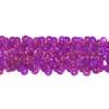 Sequin Stretch 3-row Hologram mauve/ Purple